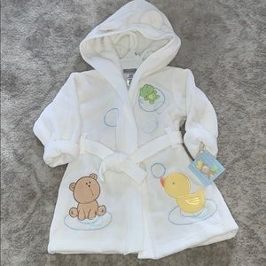 Carter's Baby Bath Robe New
